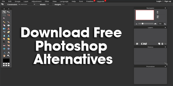 ownload Free Photoshop Alternatives