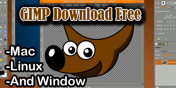 GIMP Download Free For Mac Linux And Window