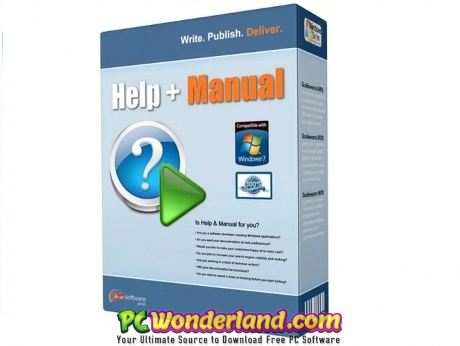 Help & Manual 7 Free Download - PC Wonderland