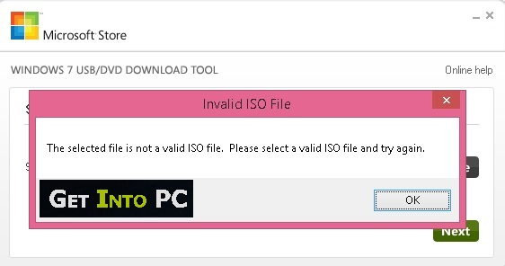 How To Fix Selected File is Not a Valid ISO File Error