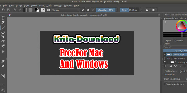 Krita Download Free For Mac Linux And Windows 32/64 Bit
