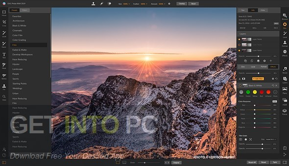 ON1 Photo RAW 2019 Direct link Download-GetintoPC.com