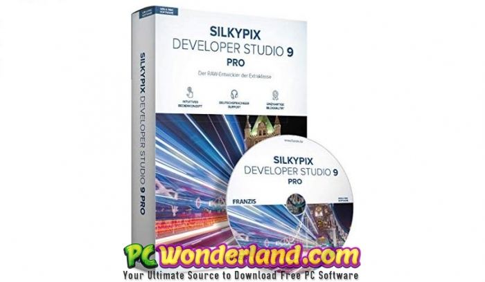 SILKYPIX Developer Studio Pro 9 Free Download - PC Wonderland