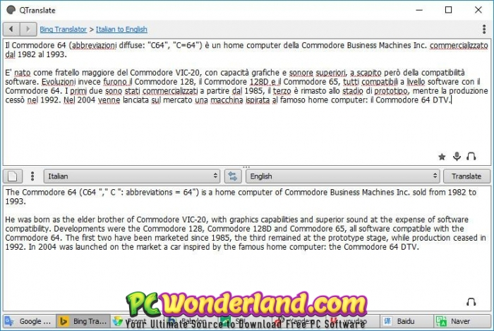 QTranslate 6 Free Download - Get Into PC - Get Into PC