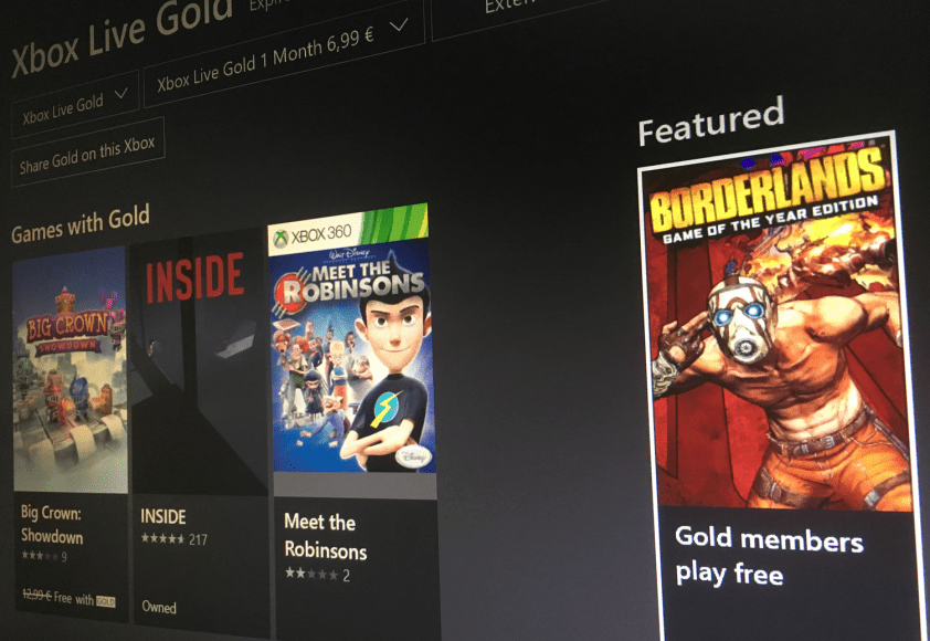 Borderlands: Game of the Year Edition is free to play with Xbox Live Gold this weekend