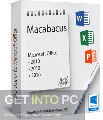 Macabacus for Microsoft Office Free download - GetintoPC.com