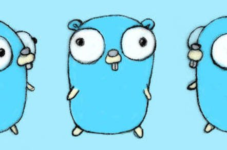 The Go Gopher mascot of the Go language