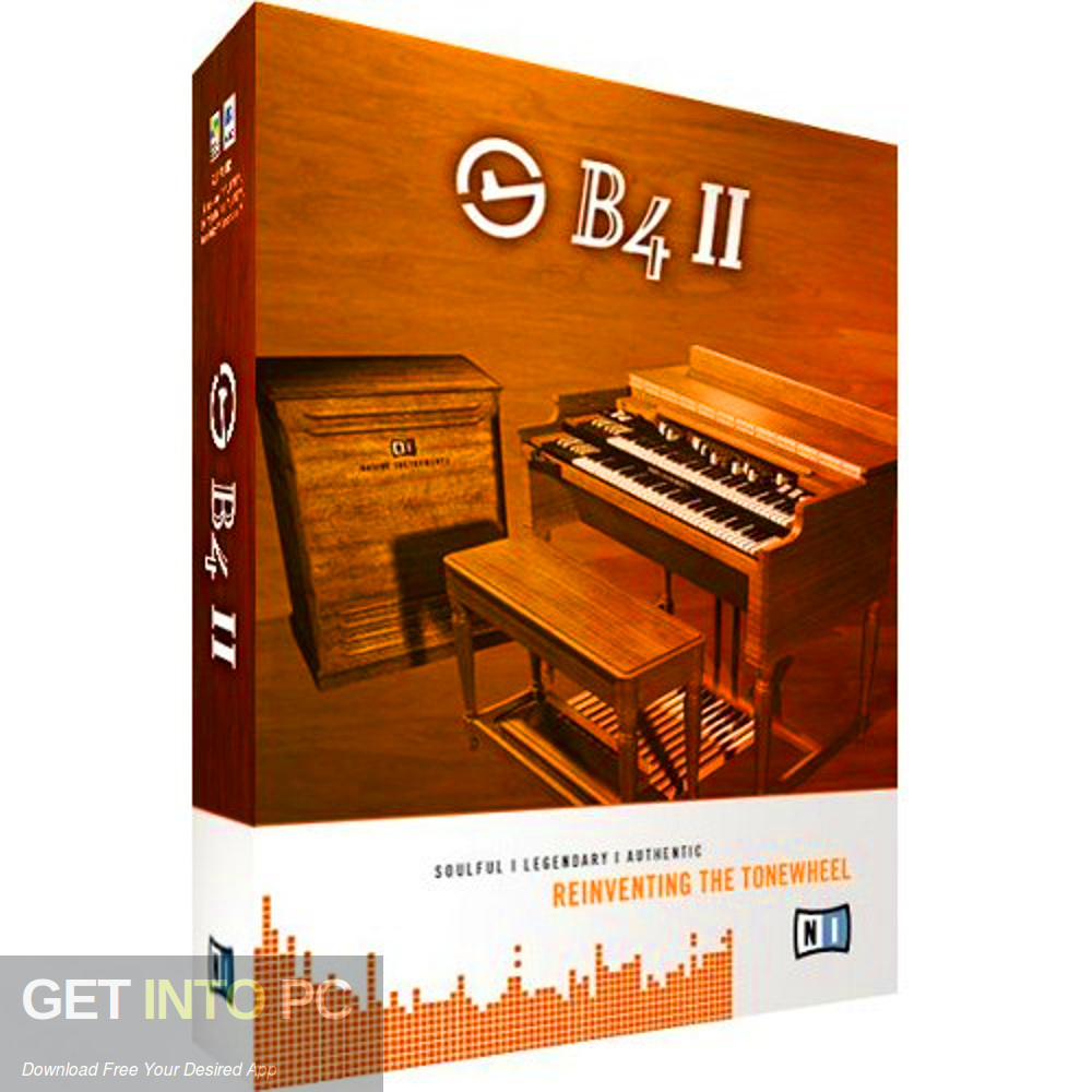 Native Instruments - B4-II VST Free Download-GetintoPC.com