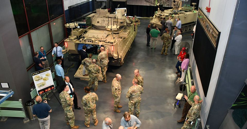 The US Army will test armored robotic vehicles in 2020