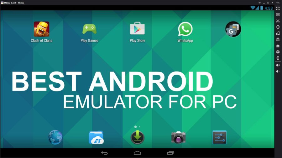 Top 5 Best Android Emulator for Windows 2018