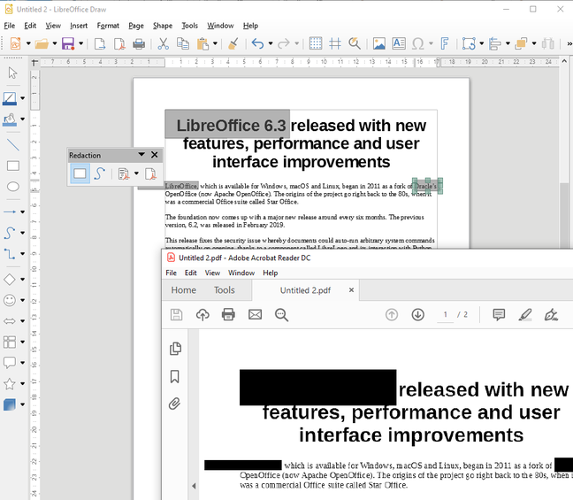 1565351371 634 bit of a time saver libreoffice emits 6 3 with new features loading and ui boosts