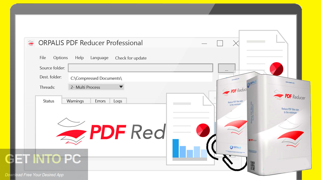 ORPALIS PDF Reducer Professional 2019 Latest version Download- GetintoPC.com