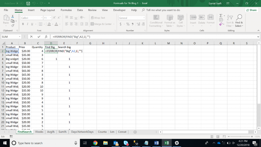 1567071560 260 15 excel data analysis functions you need to know excel with business