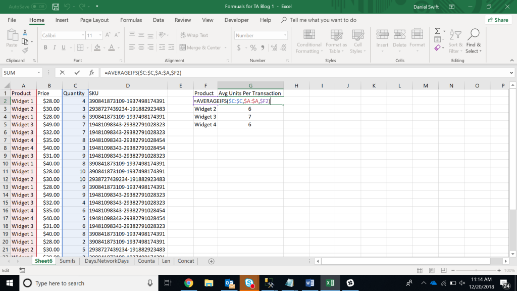 1567071560 367 15 excel data analysis functions you need to know excel with business