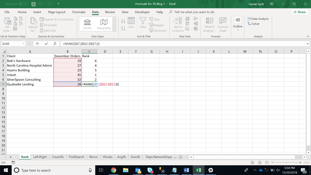 1567071561 716 15 excel data analysis functions you need to know excel with business