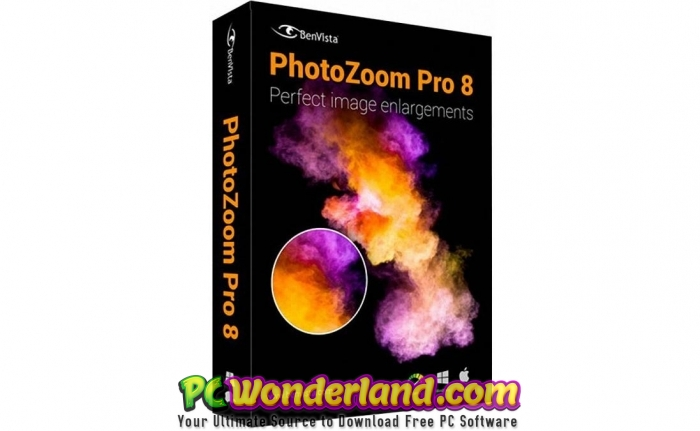 Benvista PhotoZoom Pro 8 Free Download - PC Wonderland