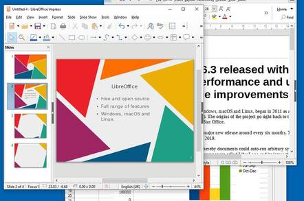 Bit of a time-saver: LibreOffice emits 6.3 with new features, loading and UI boosts