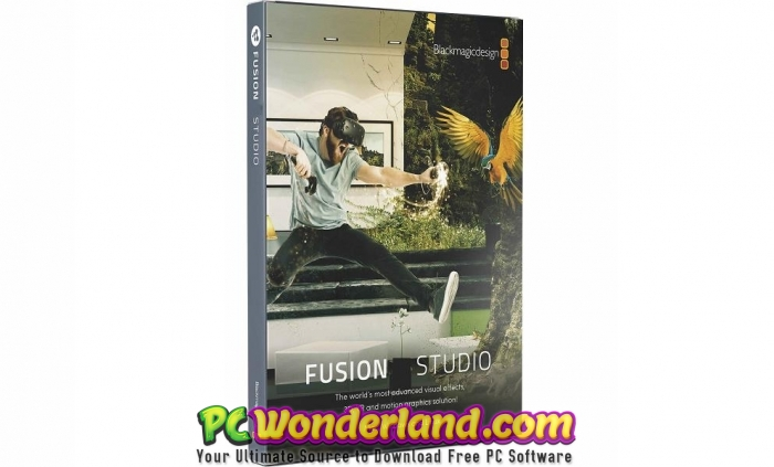 Blackmagic Fusion Studio 16 Free Download - PC Wonderland