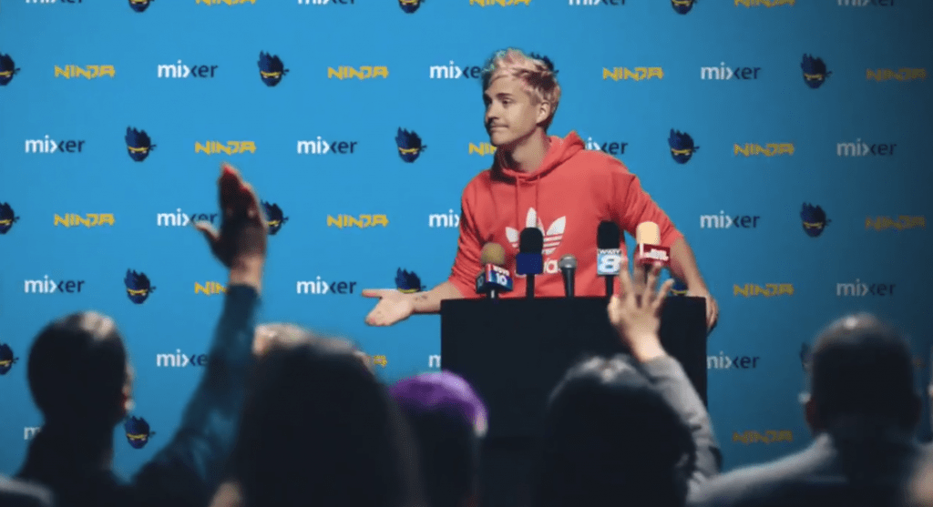 Bombshell: Twitch superstar Ninja is going to stream exclusively on Mixer
