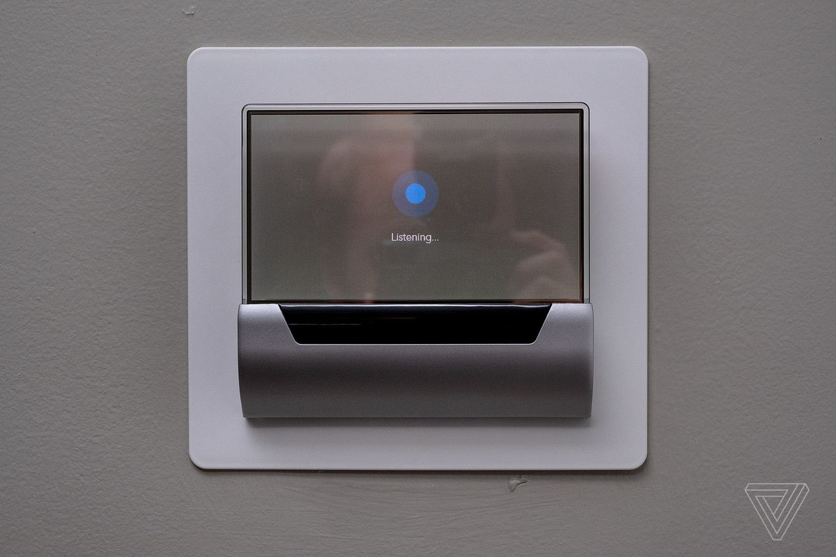 Cortana is being removed from the GLAS thermostat
