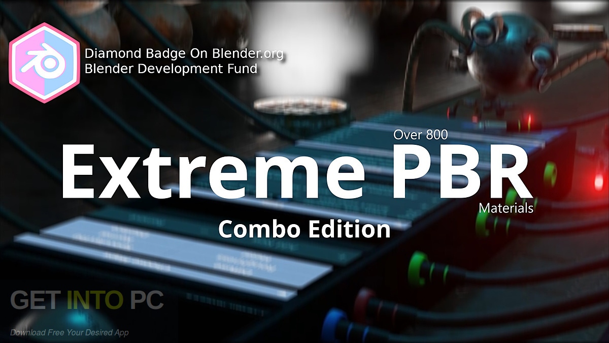 Extreme PBR 2.0 add-on for Blender 2.8 Free download-GetintoPC.com