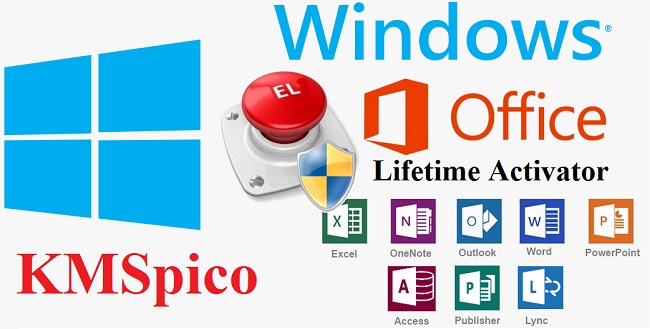 Download KMSPico to activate Windows and Microsoft Offcie