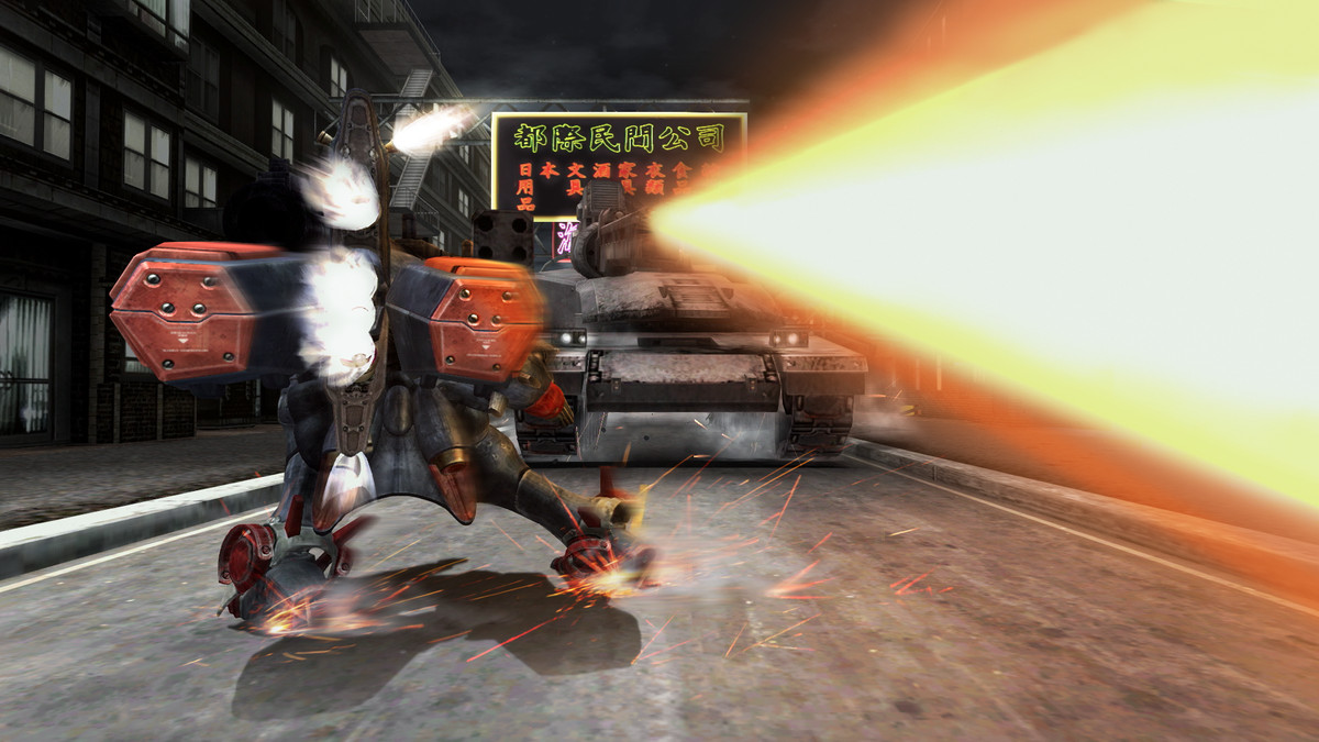 In Metal Wolf Chaos XD, the president is a mech pilot