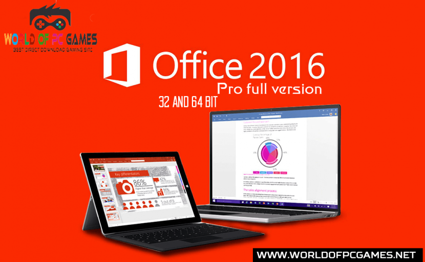 Free download of Microsoft Office 2016 Pro Plus