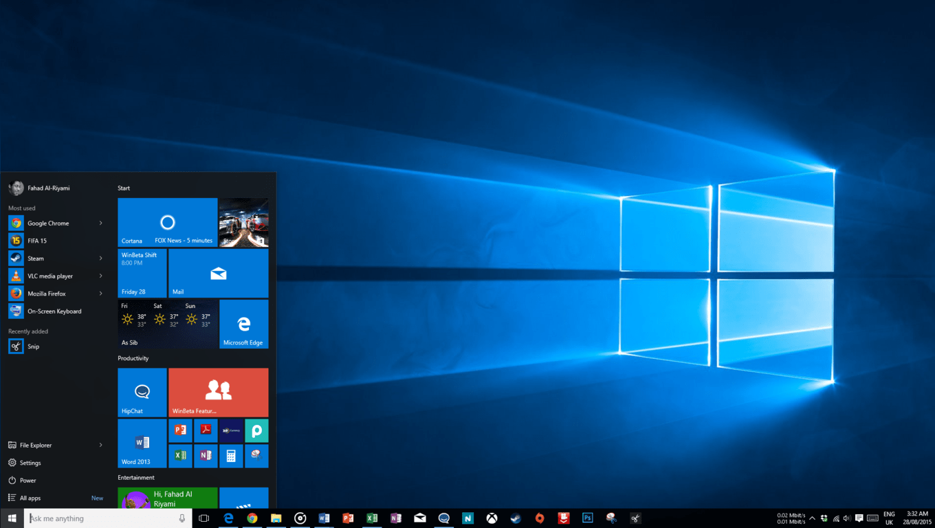 Windows 10 19H2 build 18362.10022 is now available for Slow Ring Insiders