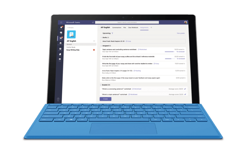 Microsoft Teams for Education gets an updated Assignments experience