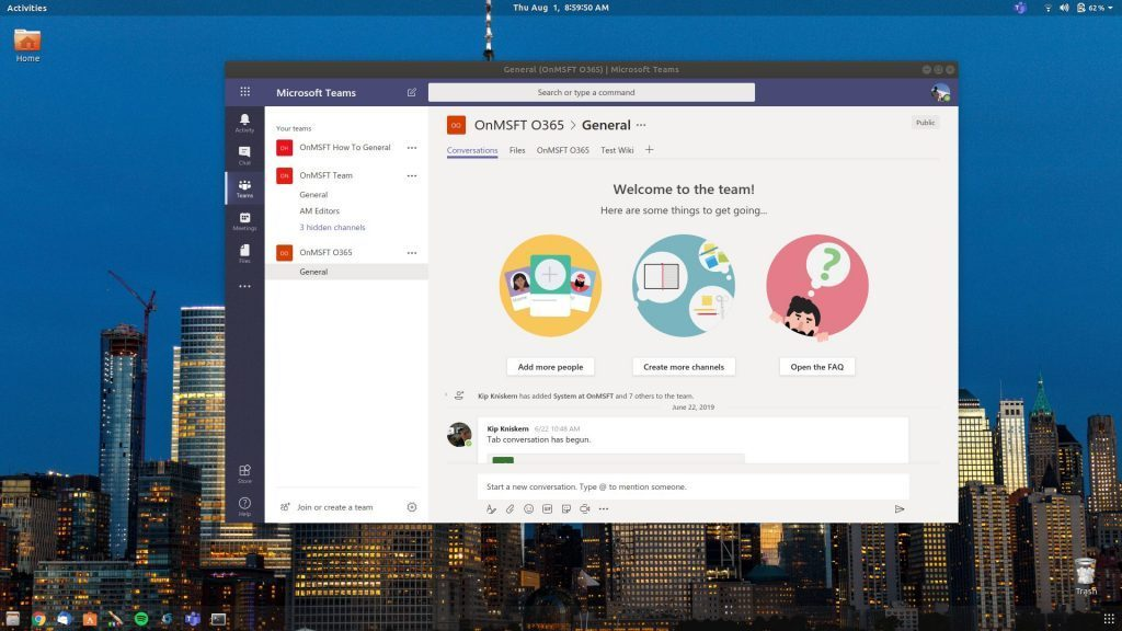 Microsoft Teams may soon have an official Linux app