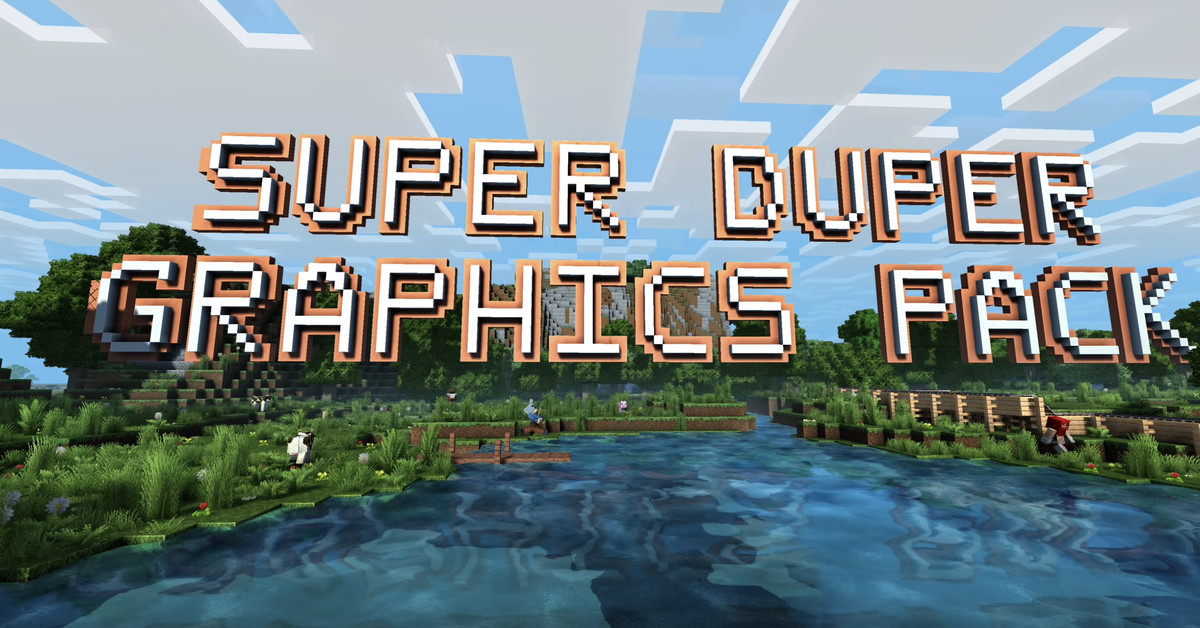 Minecraft's 'Super Duper Graphics Pack' is canceled due to technical difficulties