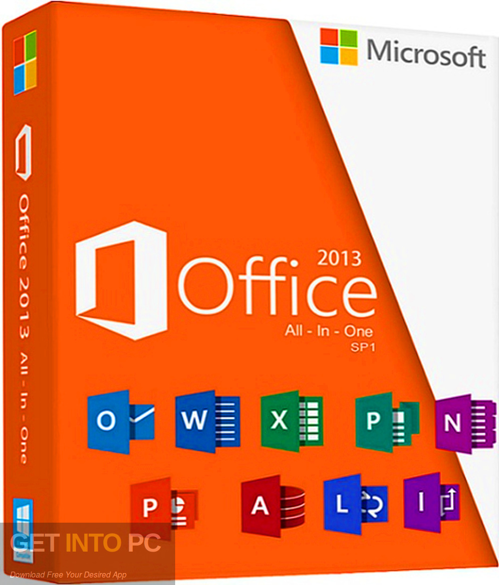 Office 2013 Professional Plus updated in August 2019 Download free-GetintoPC.com