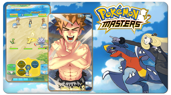 Pokémon Masters is out!
