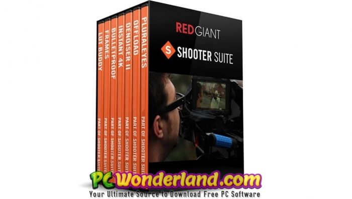 Red Giant Shooter Suite 13 Free Download - PC Wonderland