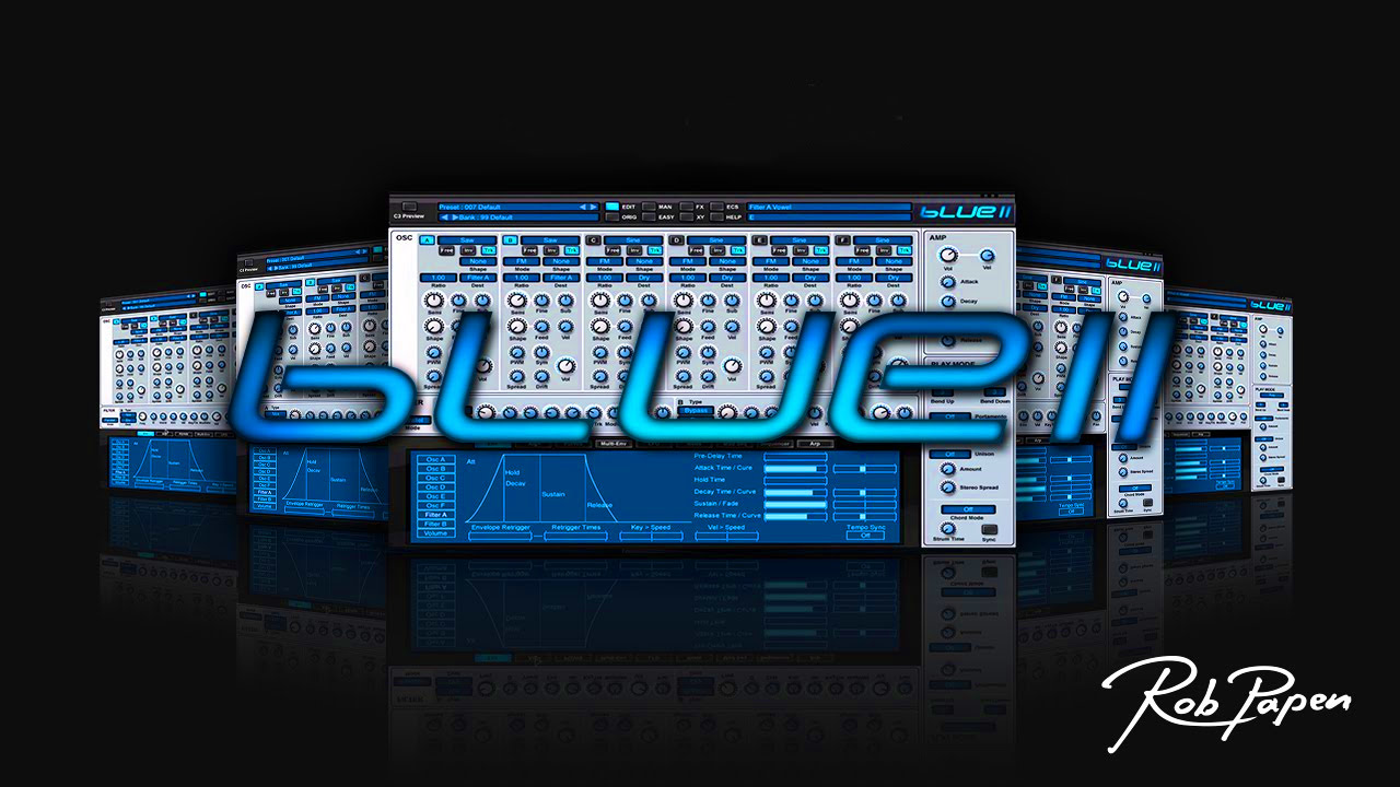 Rob Papen - BLUE II VST Free download