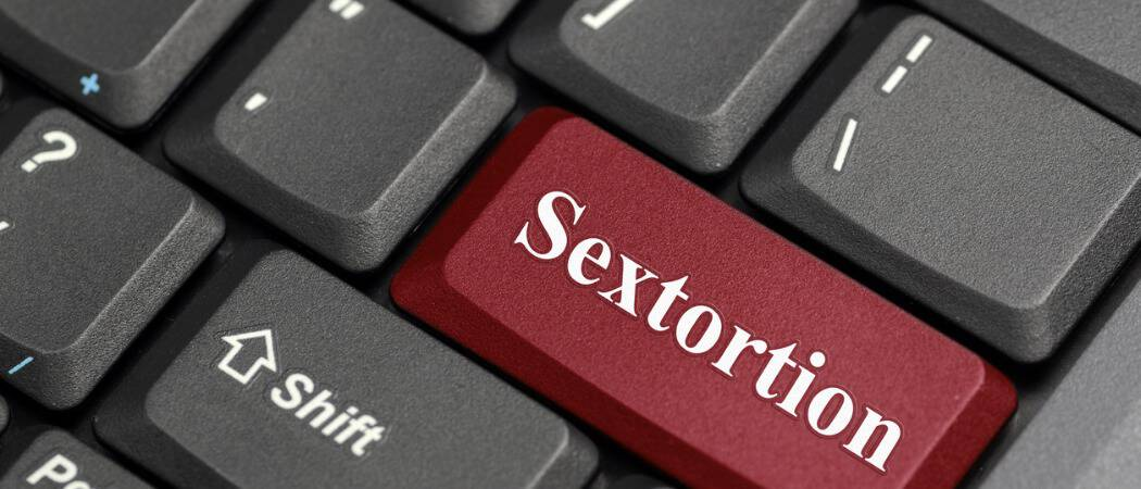 Sextortion: What it is and How to Protect Yourself