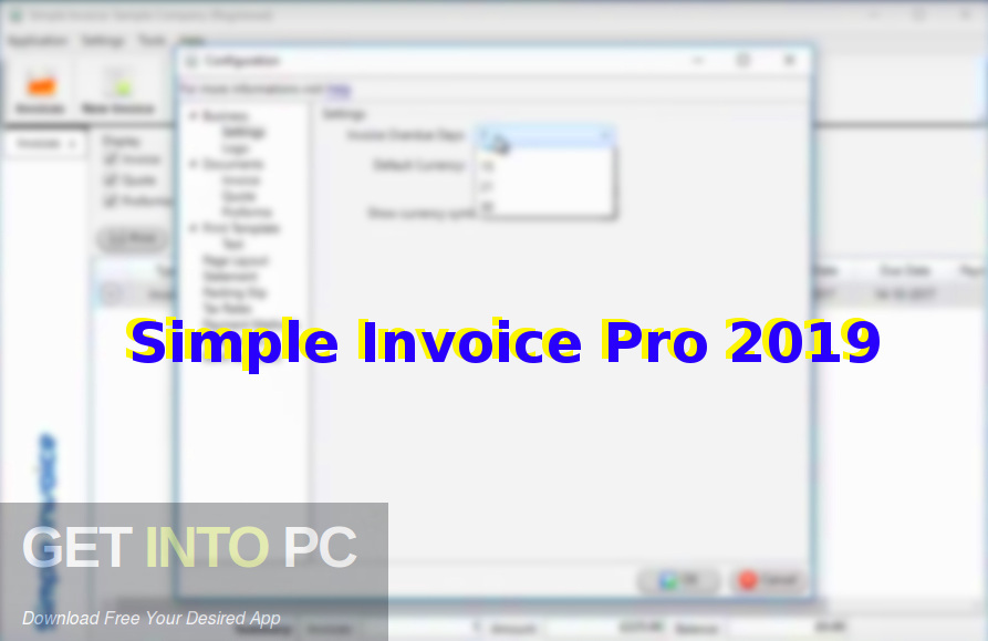 Simple Invoice Pro 2019 Free Download Get Into Pc
