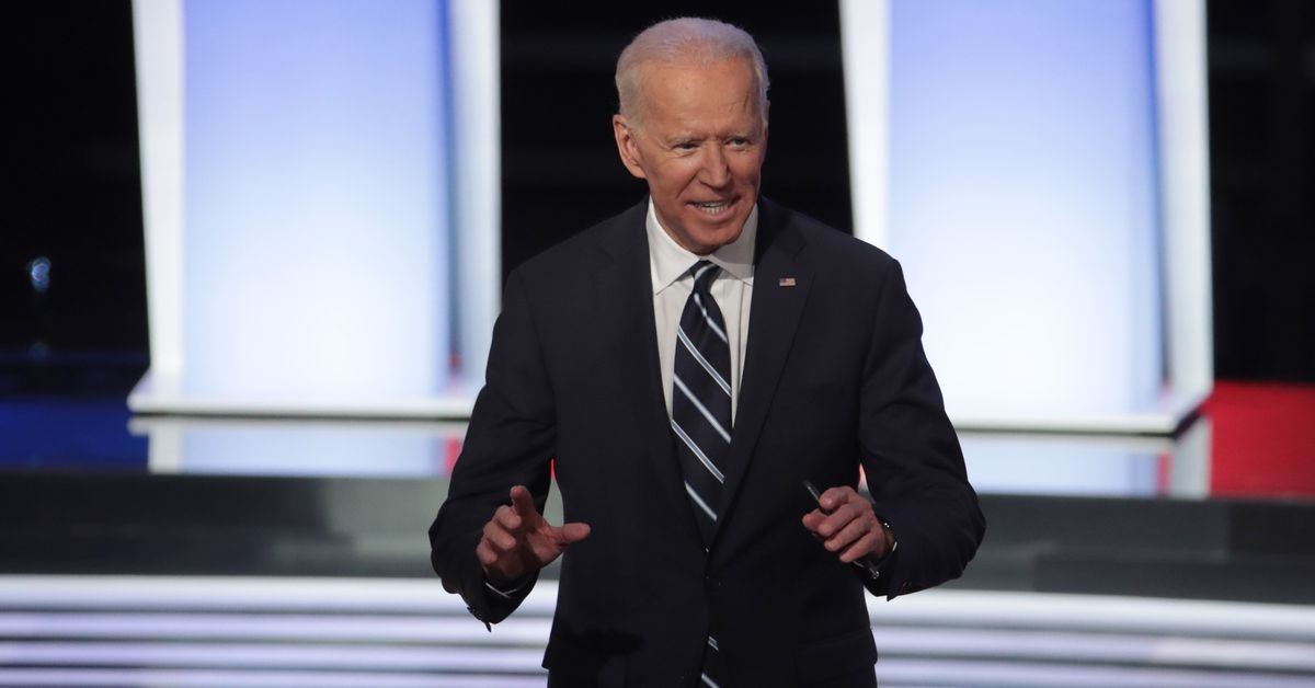 Someone explain to Joe Biden the difference between a website and a text message short code