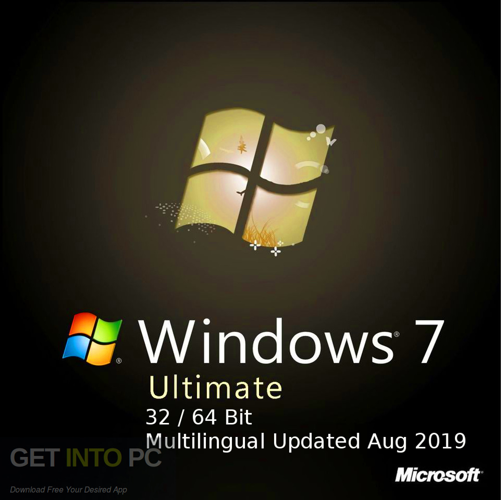Windows 7 Ultimate 32 64 Bit Multilingual Updated in August 2019 Free download-GetintoPC.com