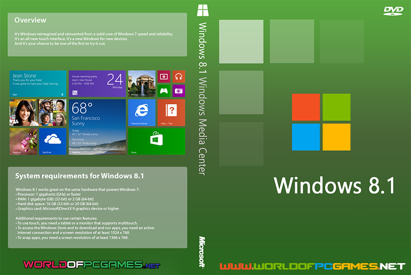 Windows 8.1 Free Download Pro 32 And 64 Bit With Updates