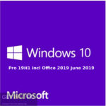 Windows 10 Pro 19H1 included Office 2019 in June 2019 Download