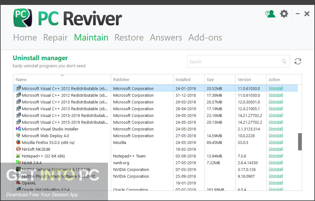 ReviverSoft PC Reviver 2019 Direct link Download-GetintoPC.com
