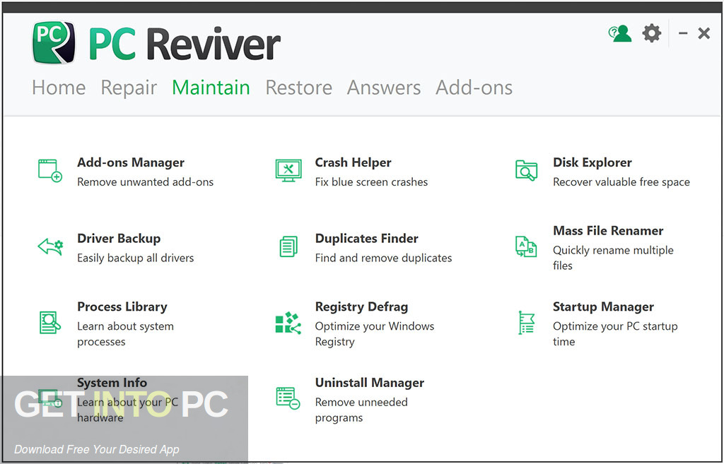 ReviverSoft PC Reviver 2019 Offline Installer Download-GetintoPC.com