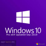 Windows 10 Pro x64 updated in September 2019 Free download