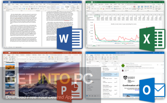 Office 2019 Retail updated in September 2019 Direct link Download-GetintoPC.com
