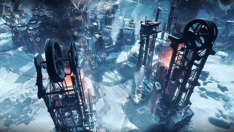 Build a city in ice with the story trailer for Frostpunk: Console Edition