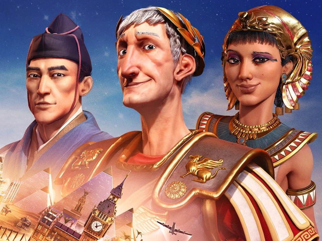 The Sid Meier & # 39; s Civilization VI video game on Xbox One