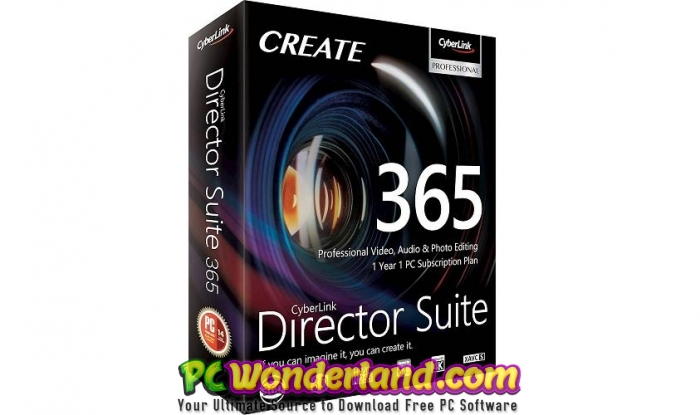 CyberLink Director Suite 365 8 Free Download - PC Wonderland