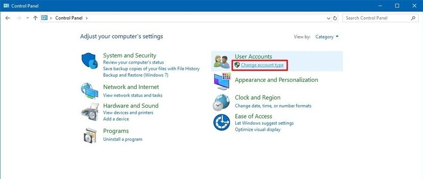 How to change the user name Windows 10